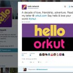 Hello Orkut Buyukkokten rede social